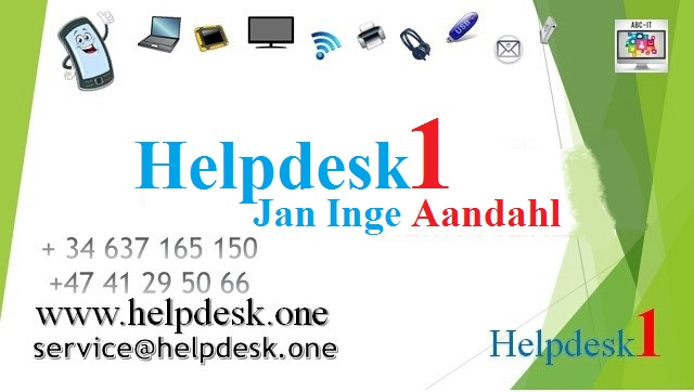 Helpdesk1 - Visittkort