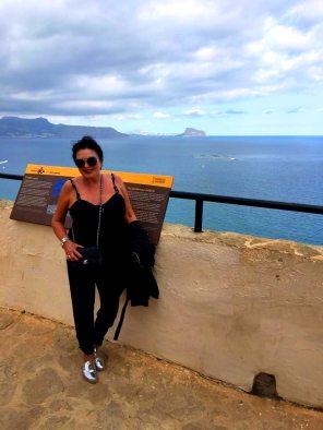 utsikten foran havet